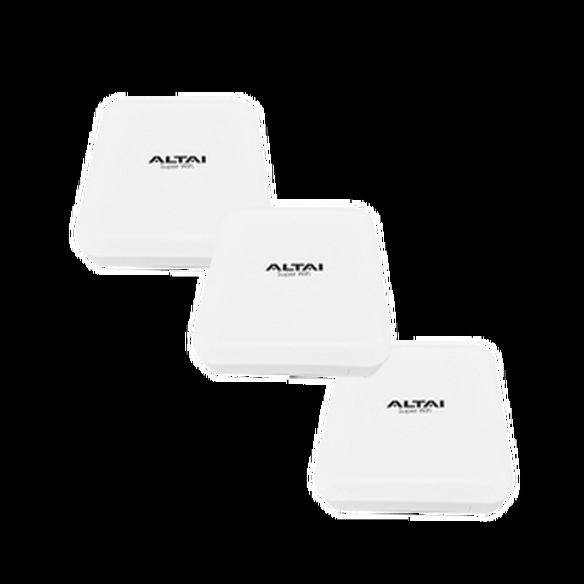 Kit IX500 c/3 equipos/ Super WiFi Punto de Acceso WAVE-2 / Gran Cobertura en Interiores