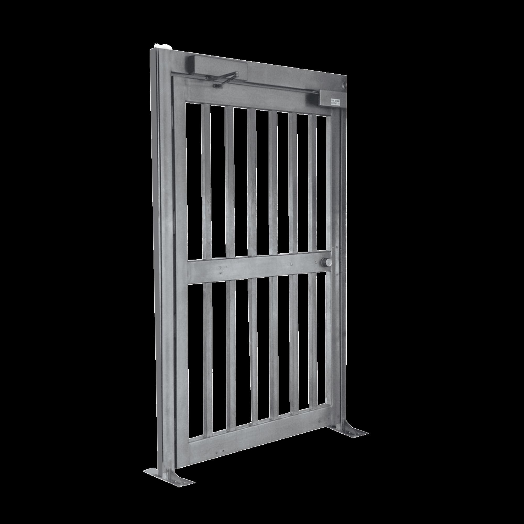 Puerta de Alta Seguridad de Cuerpo Completo  ACABADO EN ACERO GALVANIZADO