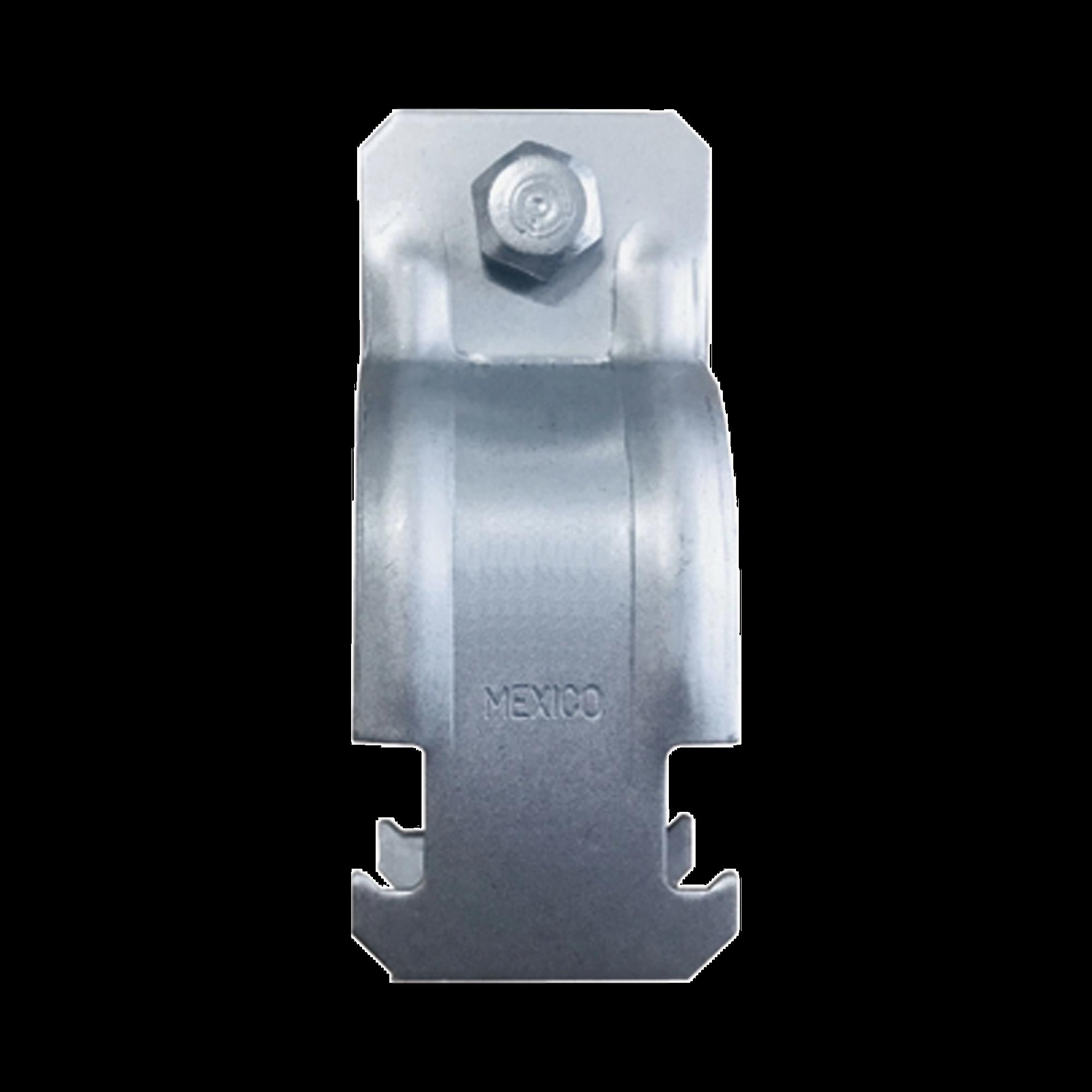 Abrazadera para Unicanal para Tubo Conduit de 1 1/2 (38 mm).