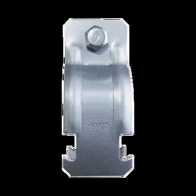 "Abrazadera Unicanal para Conduit de 3/4"" (19 mm)."