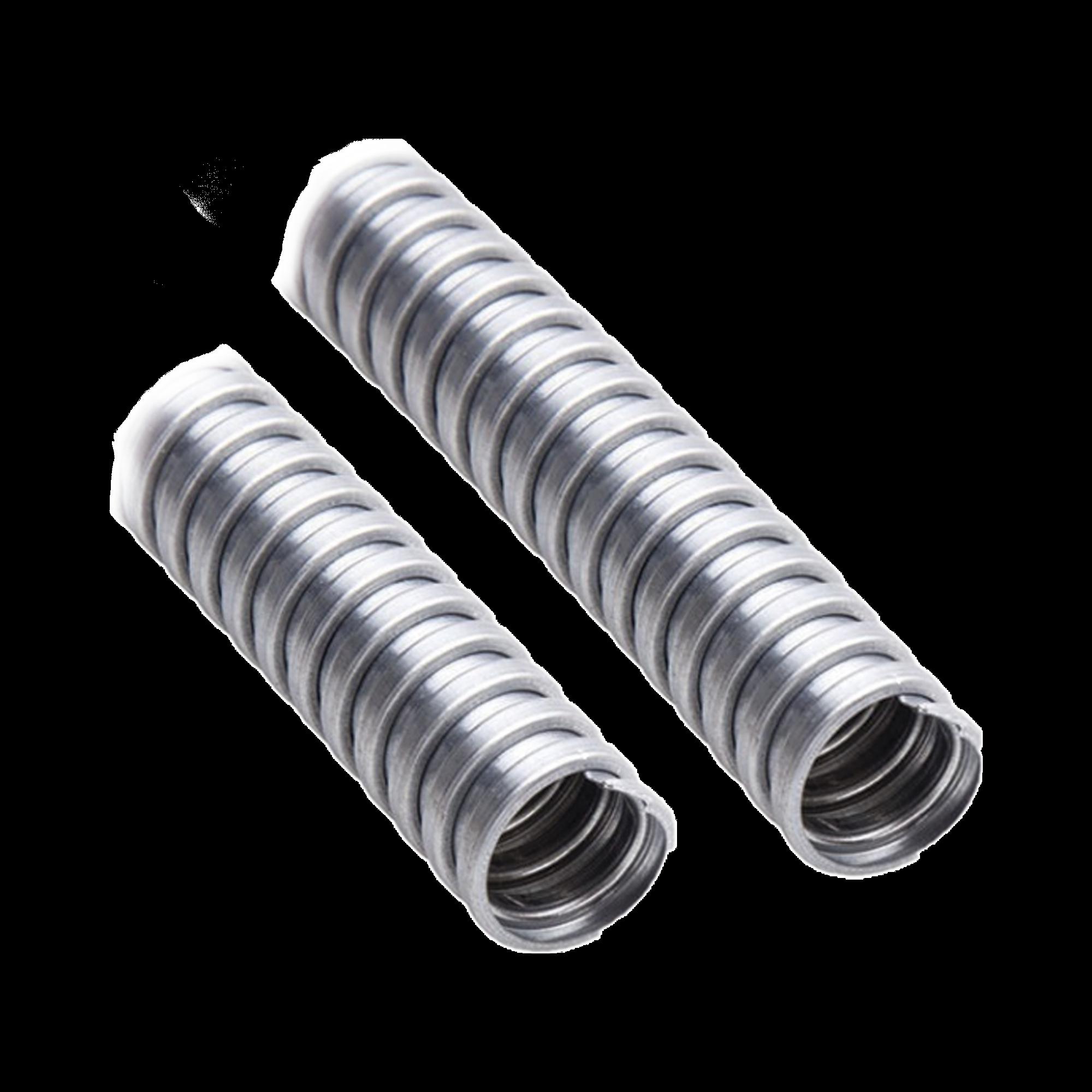 Tubo Flexible galvanizado de 1  (25 mm) Rollo con 30 mts