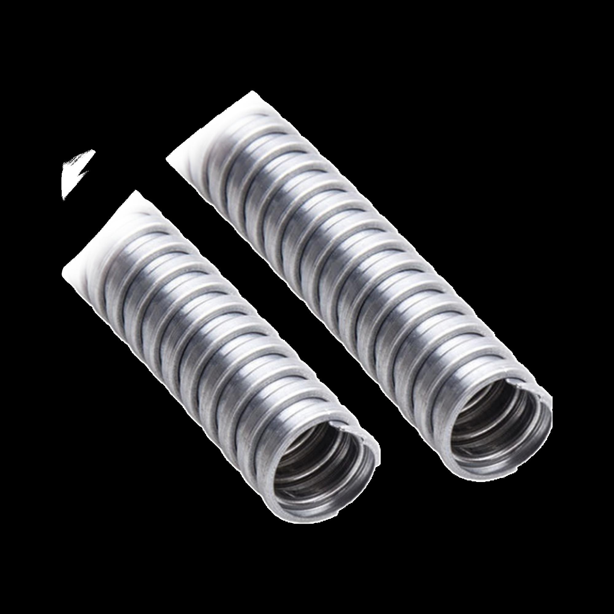Tubo Flexible de 1/2 (13 mm) en Acero Galvanizado. Rollo con 50 m.