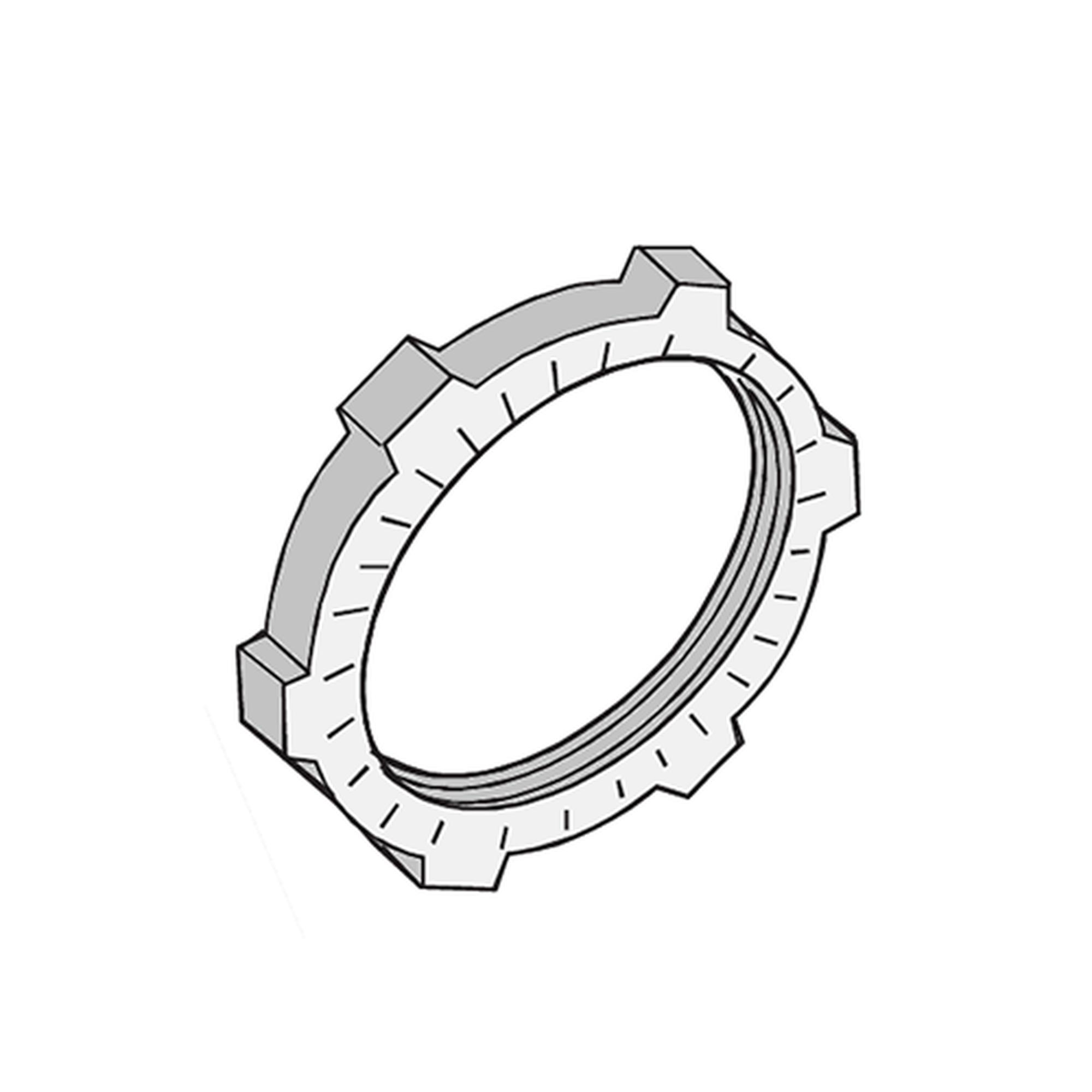 Contratuerca Metálica Zamac de 3/4 (19 mm)