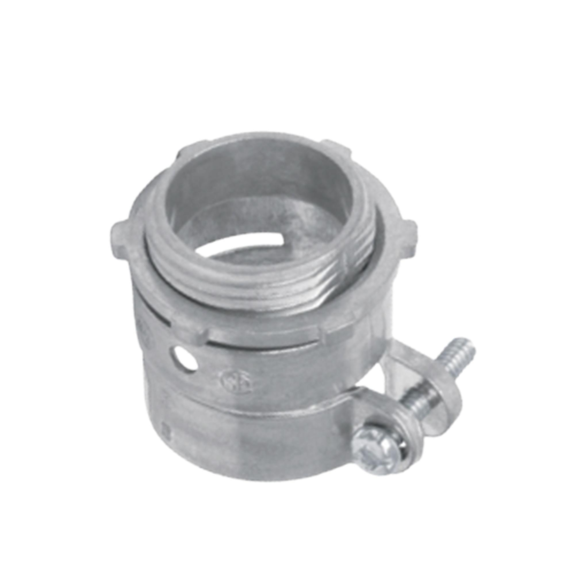 Conector recto para tubo flexible de 1 (25 mm).