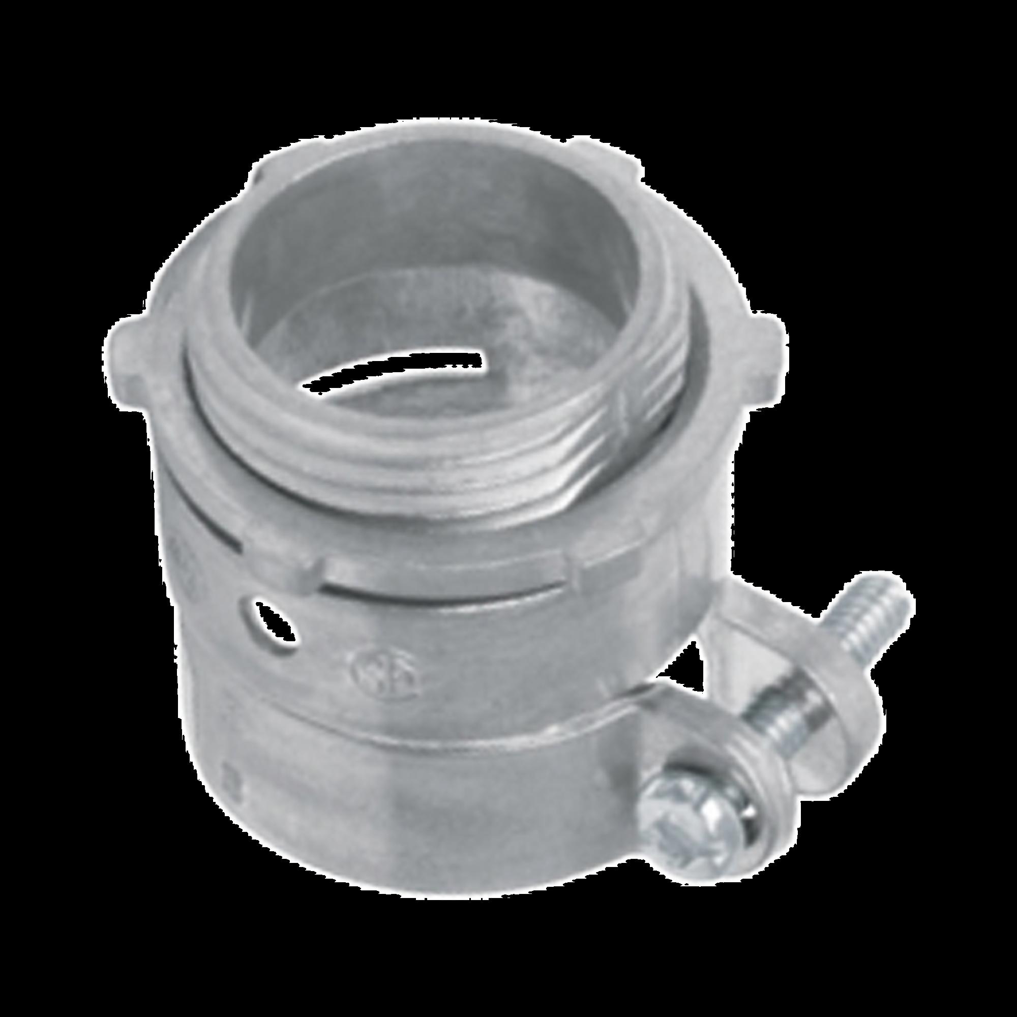 Conector recto para tubo flexible de 3/4 (19 mm)