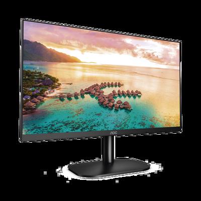 """Monitor LED de 23.8"""" VESA, Resolución 1920 x 1080 Pixeles, Entradas de Video VGA/HDMI. Panel IPS LCD Backlight LED. Ultra Delgado"""