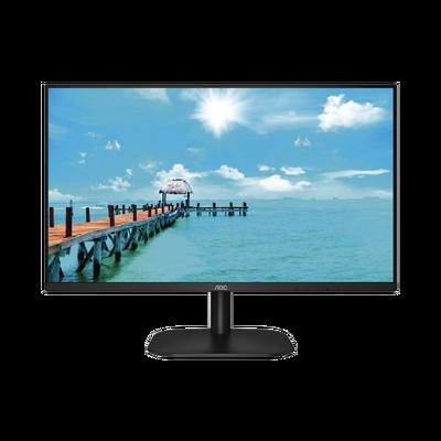 """Monitor LED de 27"""" VESA, Resolución 1920 x 1080 Pixeles,  Entradas de Video VGA / HDMI. Panel IPS LCD  Backlight LED. Ultra Delgado"""