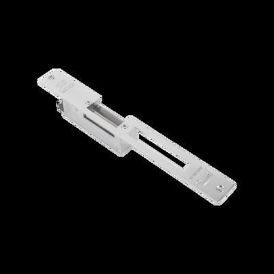 Contrachapa eléctrica / Cerrada en caso de falla/ Color Cromo