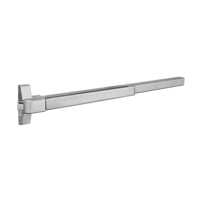 Barra de Pánico  / 1 Punto / Tipo TAMPA / UL /740 mm  / Color Plata