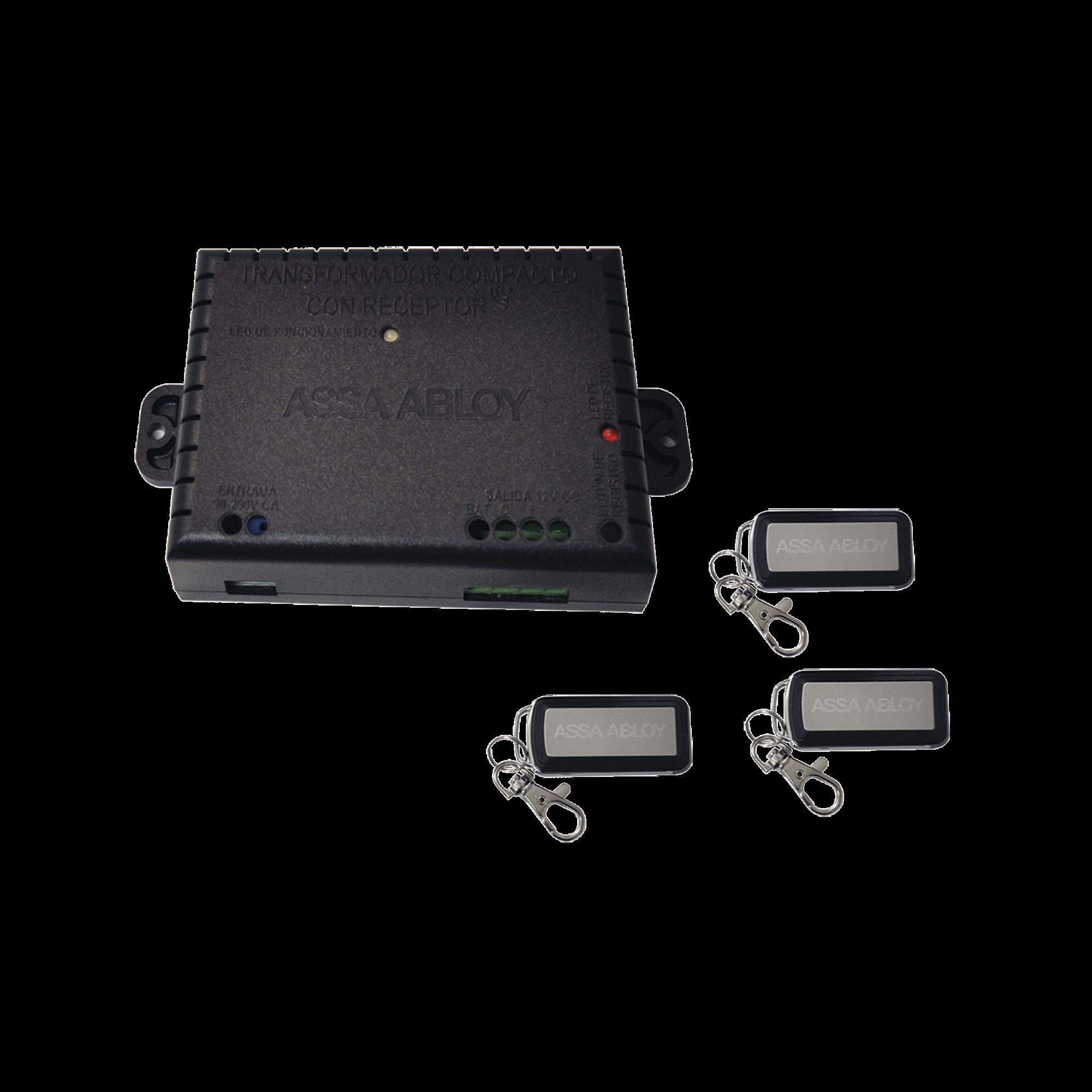 Kit de Receptor Assabloy con 3 controles