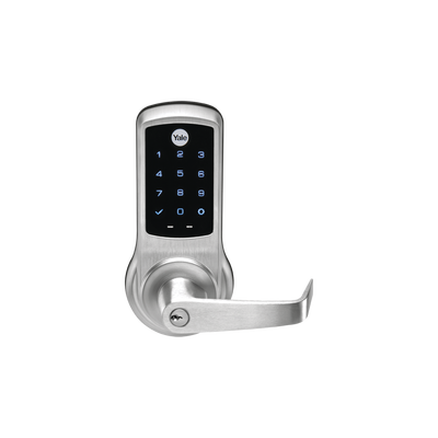 Cerradura Autónoma NEXTOUCH NTB620/640 de Uso Rudo y Tráfico Intenso / PIN, posibilidad de integrar a Smartphone