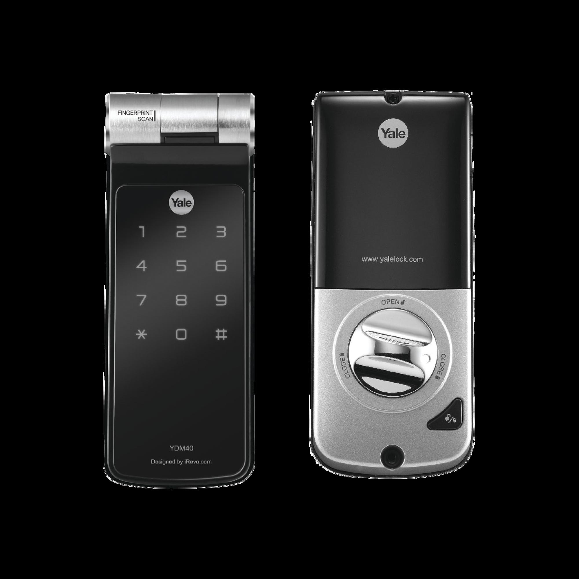 Cerradura YDF40 de Huella y Pin con apertura a través de SMARTPHONE!