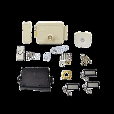 Kit Cerradura Eléctrica 321DC  Izquierda y Hub para Apertura a través de Smartphone en cualquier parte del mundo