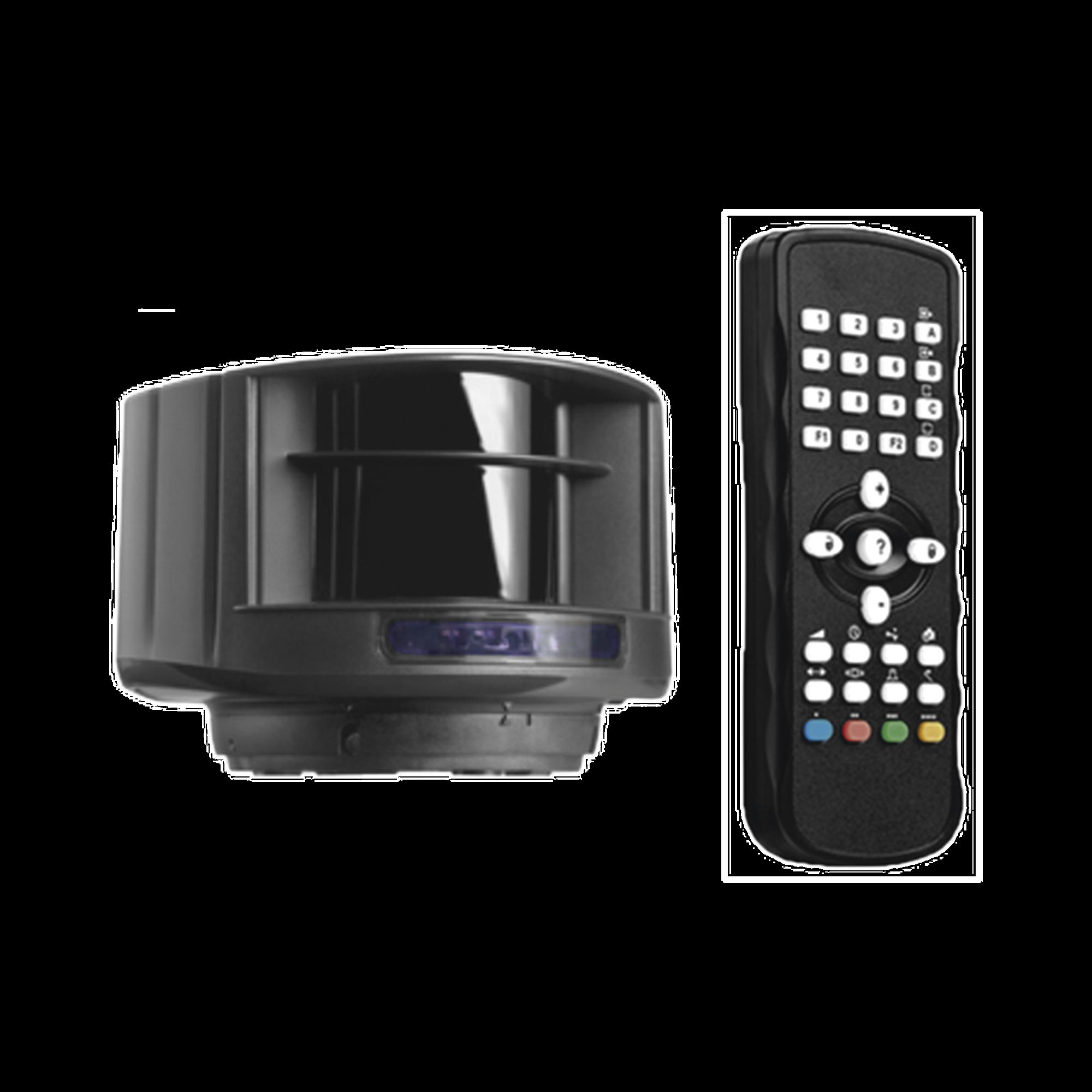 Kit de Sensor láser y control remoto / Evite el uso de lazos magnéticos / Protege carriles de hasta 9.6 m de ancho y 9.6 metros de profundidad