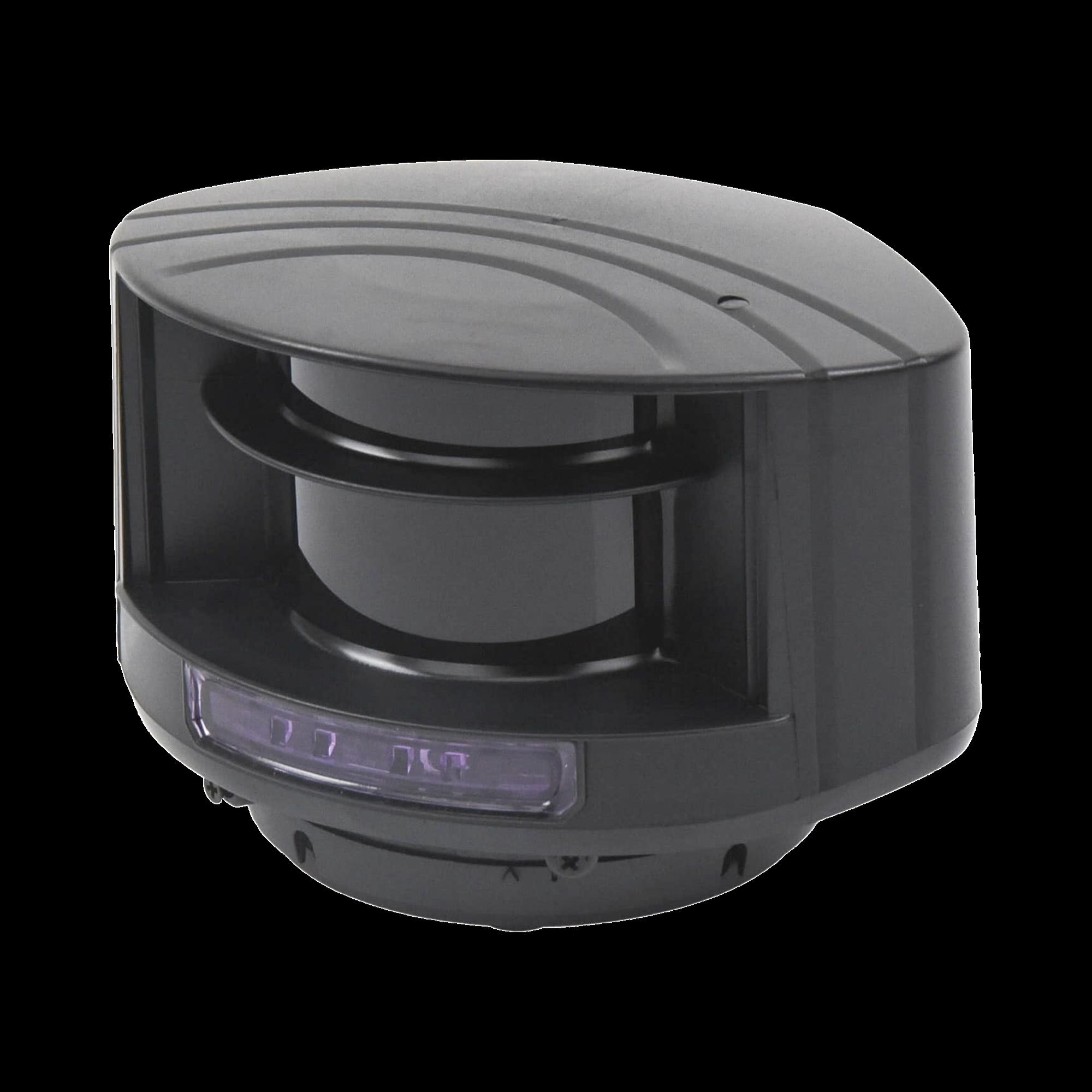 Sensor láser de seguridad para portones / barreras / puertas rápidas / Alternativa segura al uso de fotoceldas / Protege áreas de 10 x 10 m / Campo de protección ajustable
