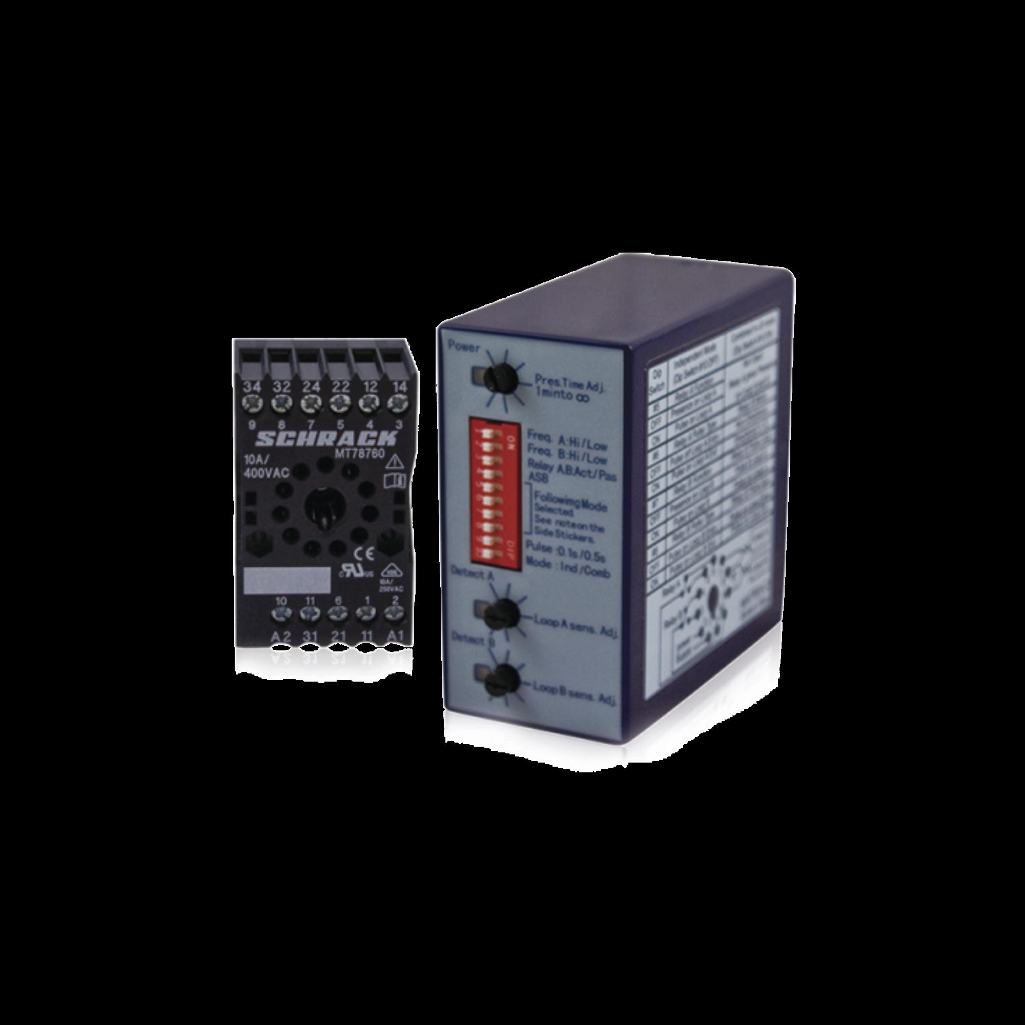 Sensor de masa para barreras (Bi-Canal)