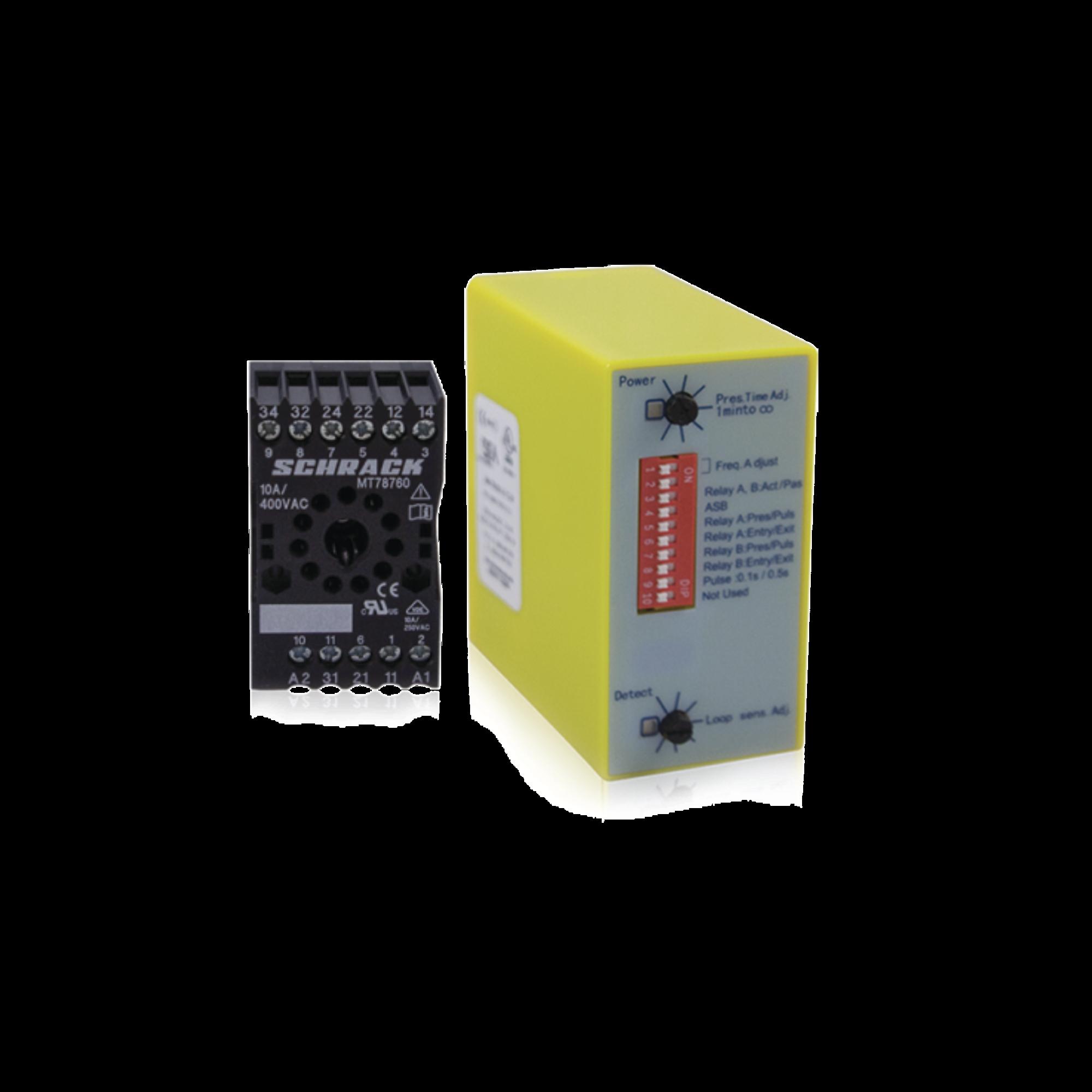 Sensor de Masa Mono Canal / Ideal para Automatización de Barreras Vehiculares