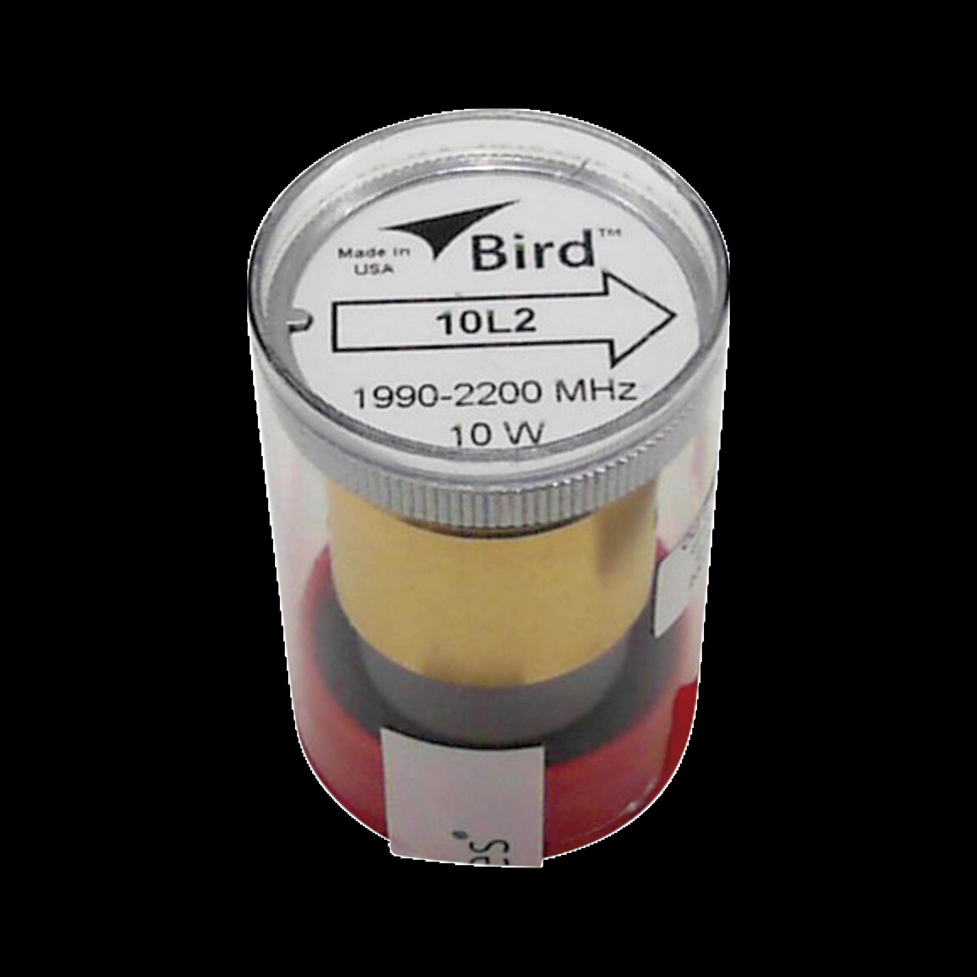 Elemento de 10 Watt en linea 7/8 para Wattmetro BIRD 43 en Rango de Frecuencia de 1990-2200 MHz.
