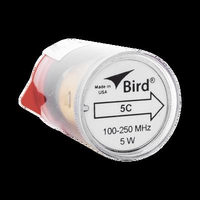 """Elemento de 5 Watt en linea 7/8"""" para Wattmetro BIRD 43 en Rango de Frecuencia de 100 a 250 MHz."""