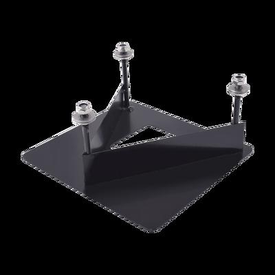 Base de fijación en concreto/cemento para sujeción extra en terrenos no uniformes, con dificultades o poco compactos. Válida para modelos MALTA y CAV.