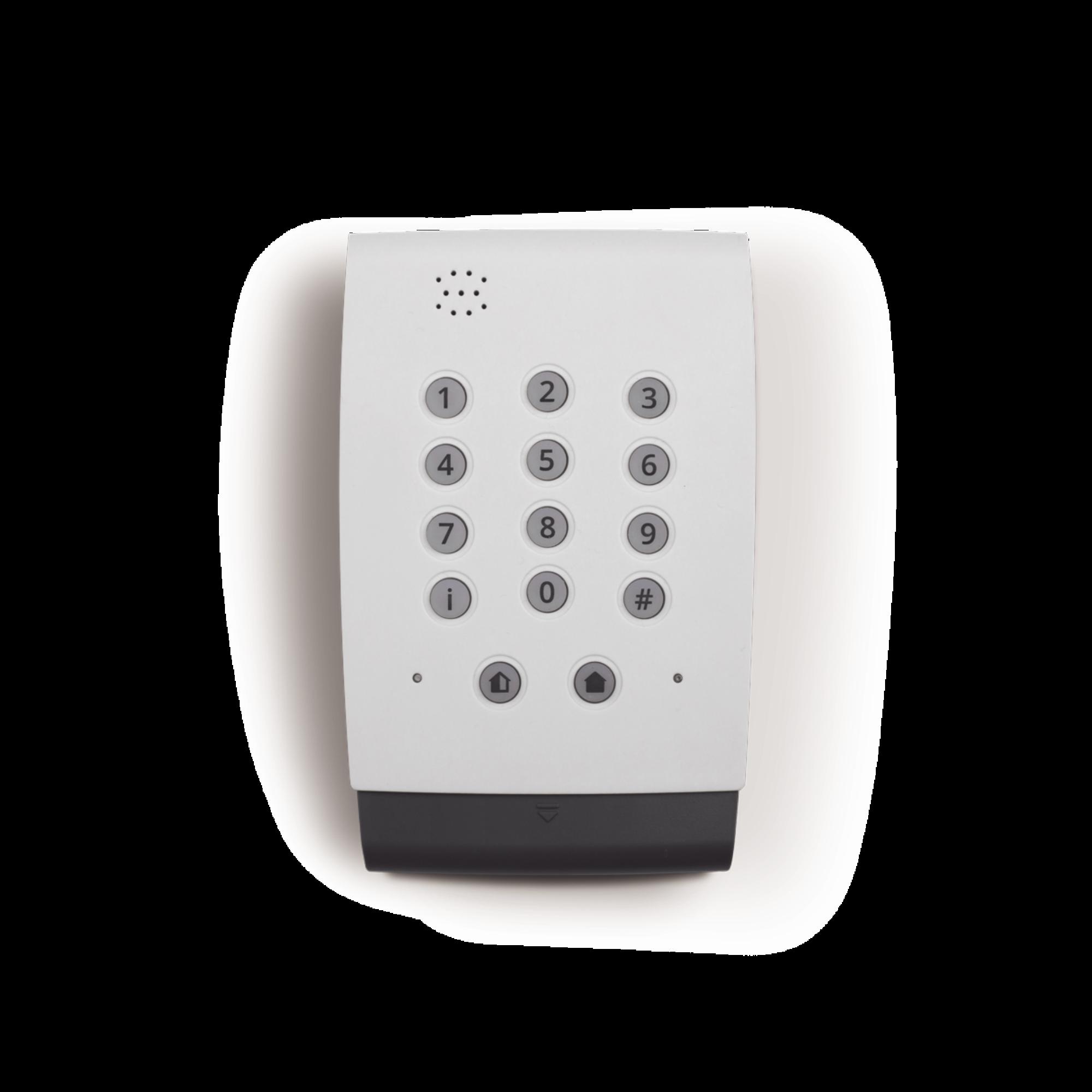 Panel de alarma cableada. Apto para la seguridad de pequeñas oficinas y otros inmuebles comerciales.