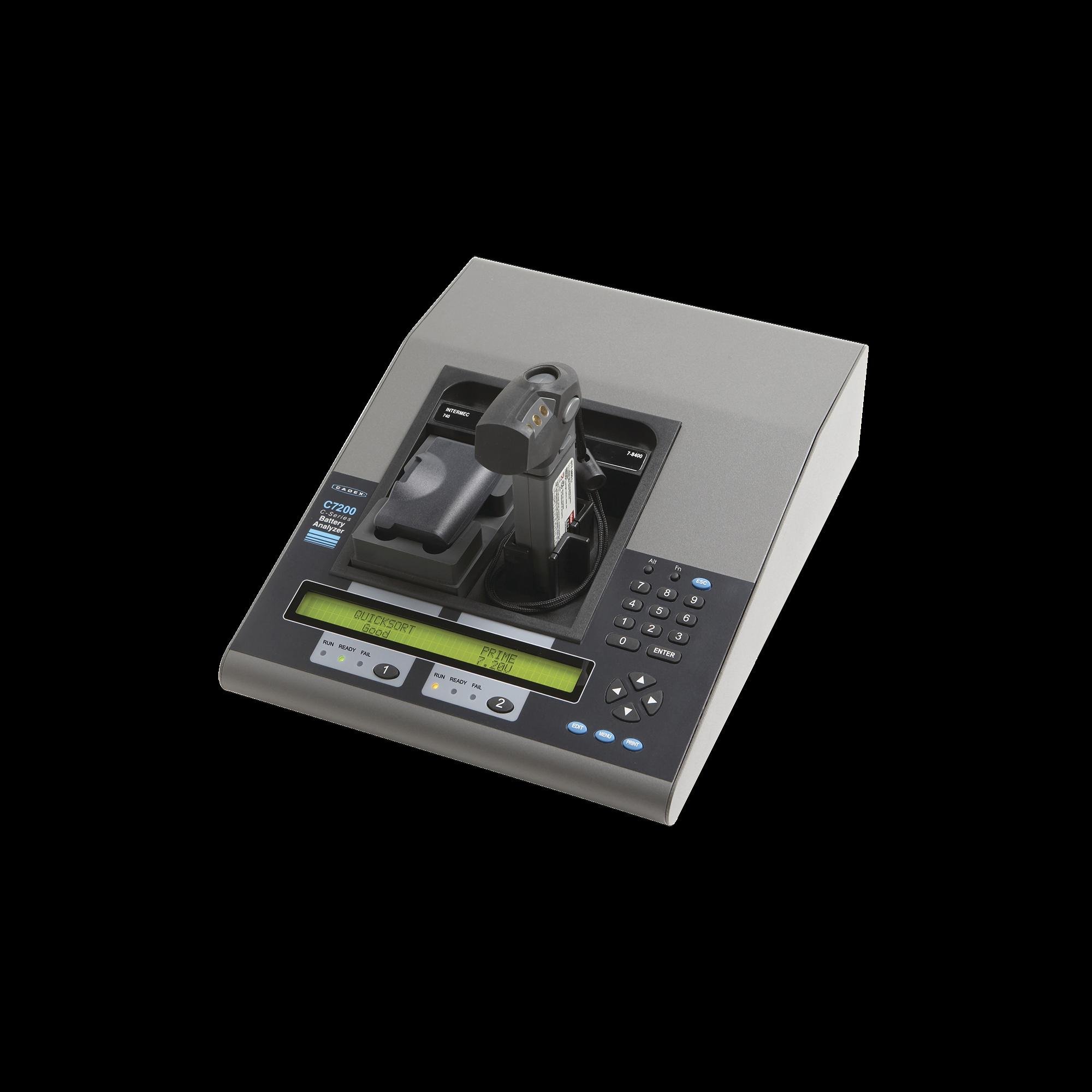 CADEX 7200-C Analizador de Baterías de 2 Cavidades (40W). No Incluye Adaptadores.