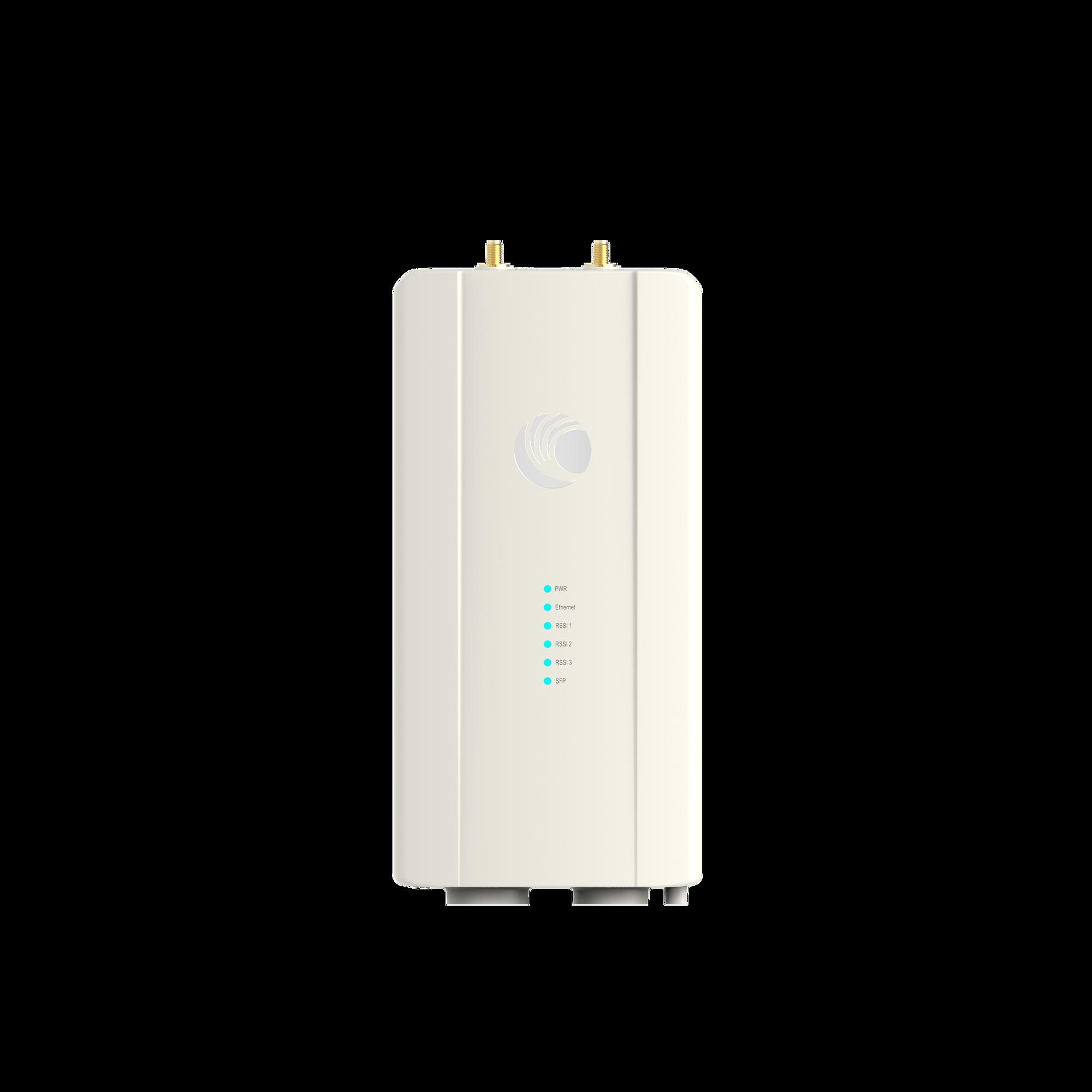 Radio para enlace BackHaul ePMP Force 400C conectorizado, protocoló 802.11ax, 4.9-6.2 GHz, IP67, hasta 1 Gbps, puerto SFP