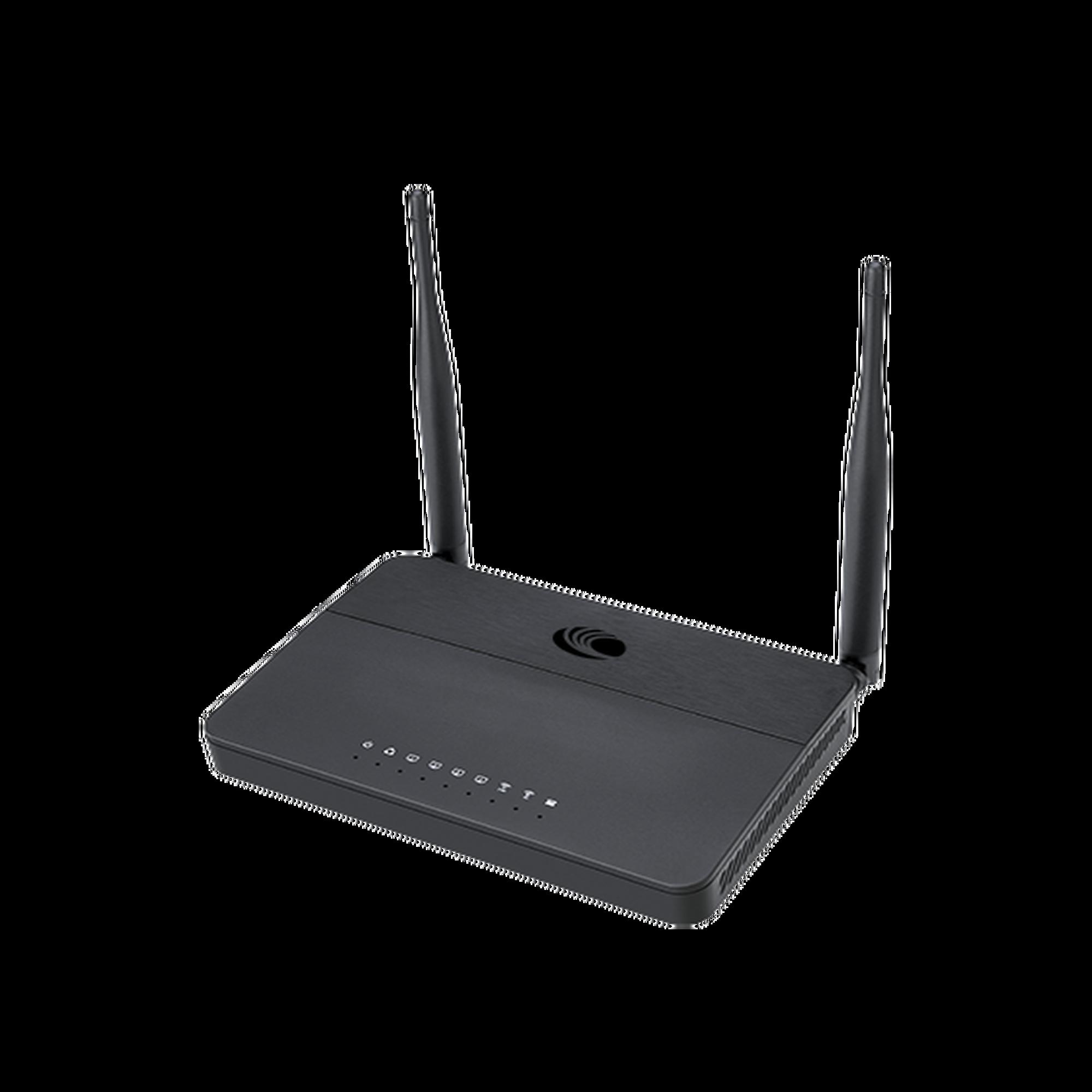 Router residencial cnPilot r195W administración en la nube, 5 puertos Gigabit, doble banda, ideal para incrementar experiencia en streaming