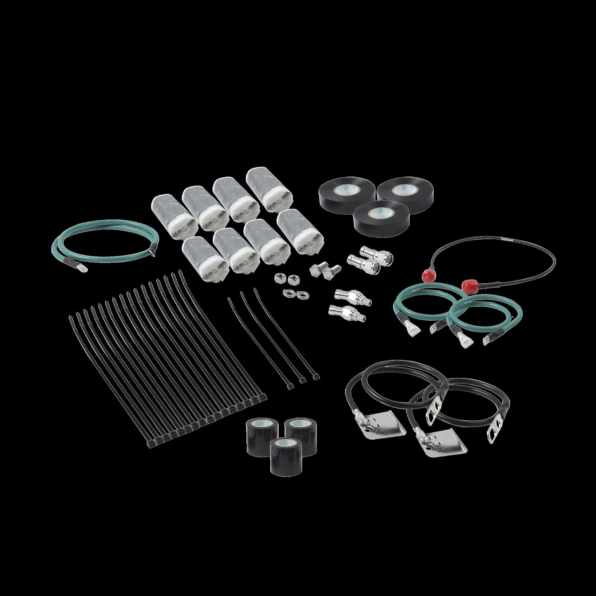 Kit de instalacion para cable coaxial para proyectos PTP 820