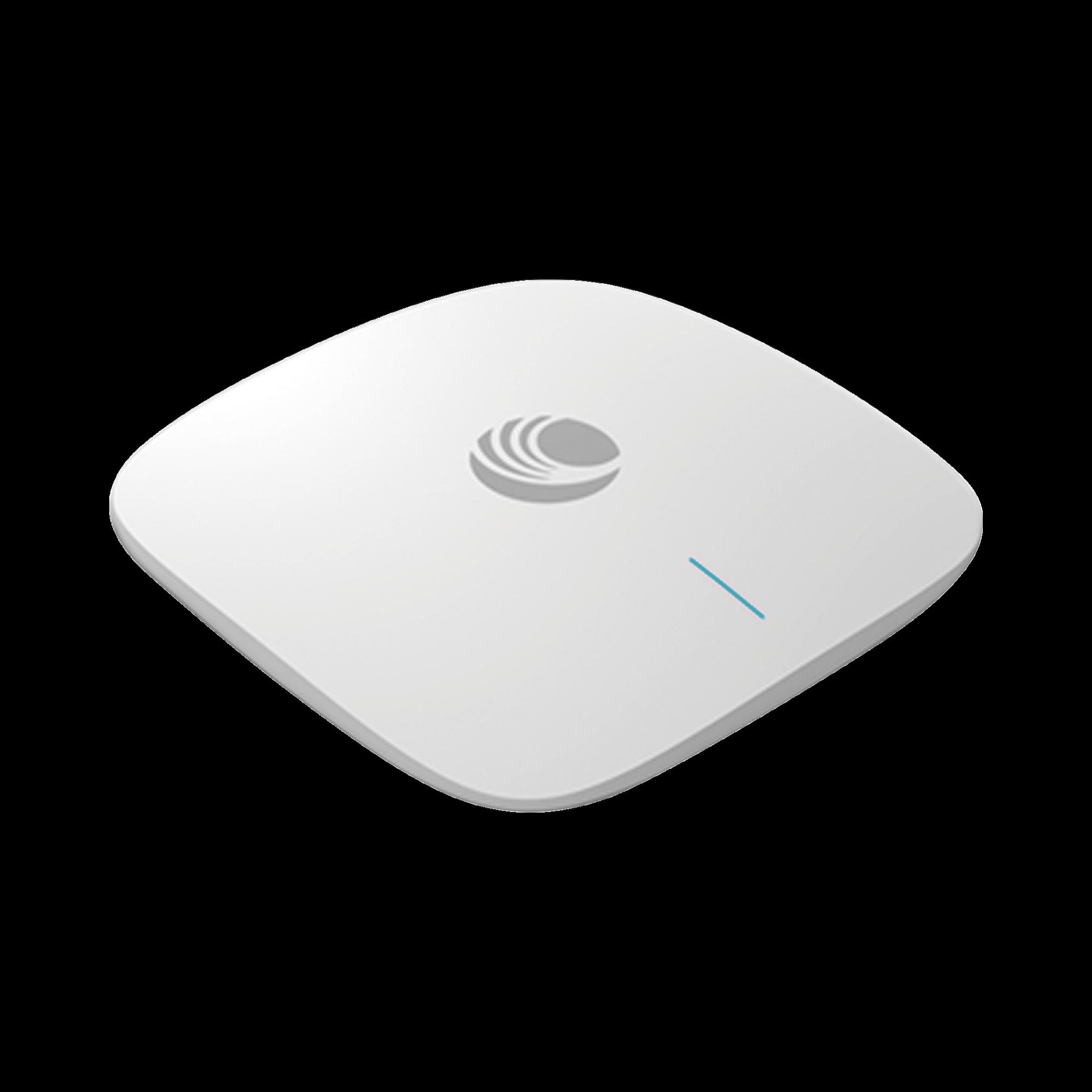 Access Point cnPilot XV2-2 WiFi 6 802.11ax, doble banda, seguridad de acceso WPA3, Políticas de control de aplicaciones, hasta 512 clientes, gestión desde la nube