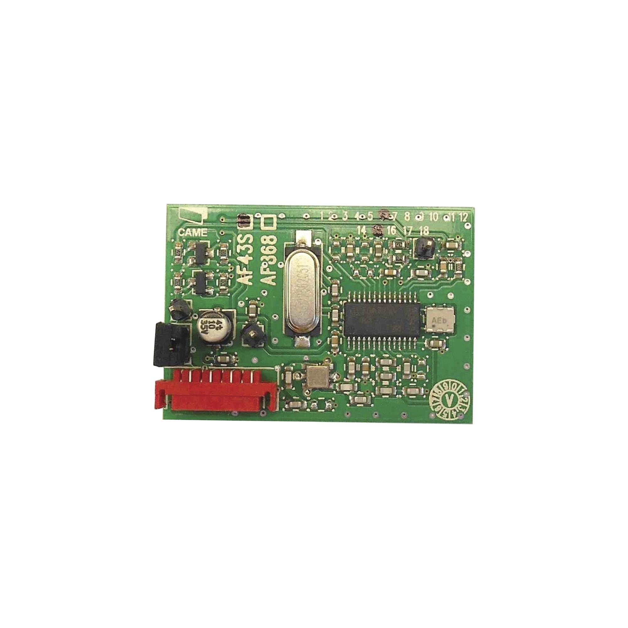 Receptor Inalámbrico.Frecuencia de 433.92 MHz