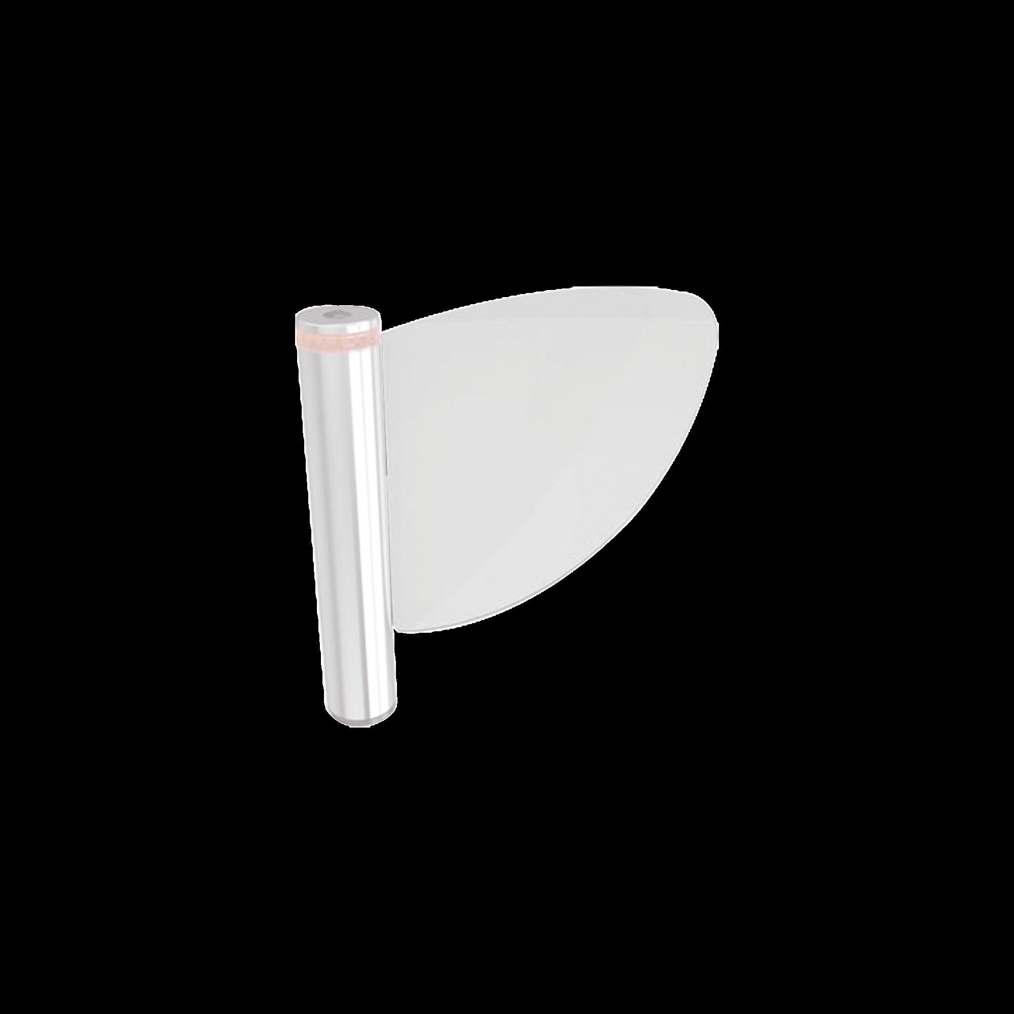 Hoja de plexiglas para puerta de cortesia WING 40 CAME / Largo 60 cm / Grosor 10 mm / Producto bajo pedido