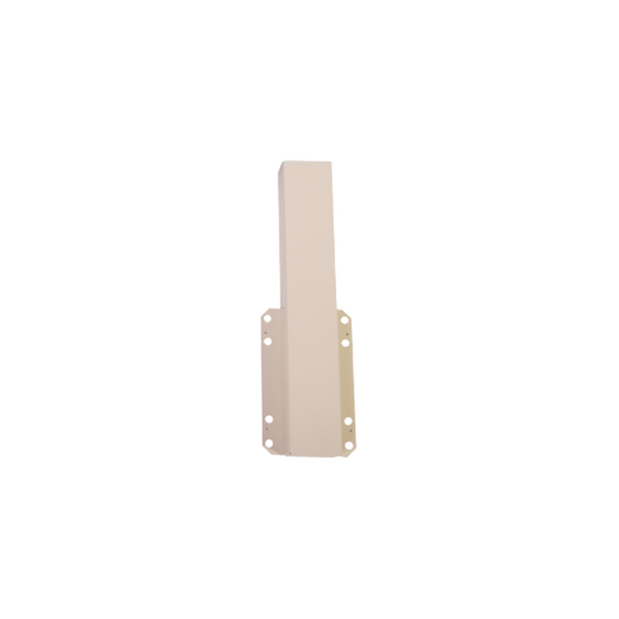 Enganche para mástil 009MXARM001 con barrera GARD4 (001G4140Z / G3750) / 8 orificios para tornillería / SOPCAM