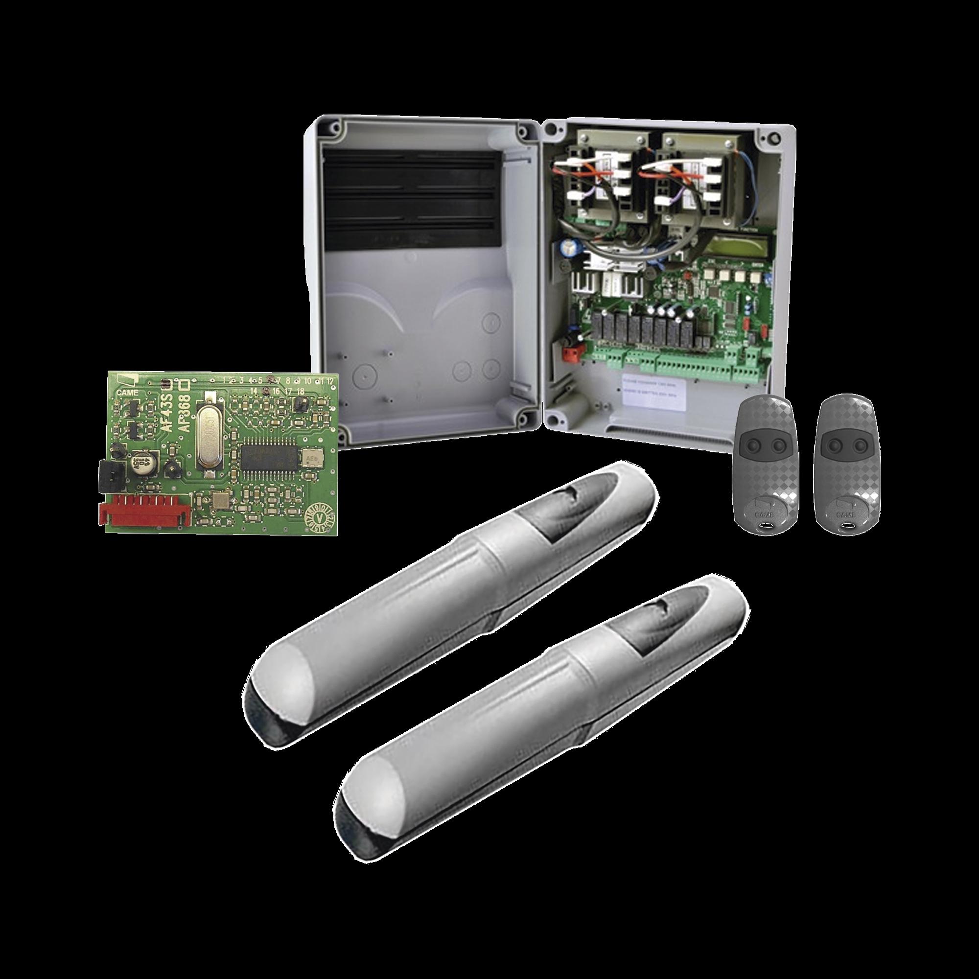 Kit de operadores AXO 5024 Para puertas Abatibles de hasta 5 Metros y 400 Kg de peso por hoja