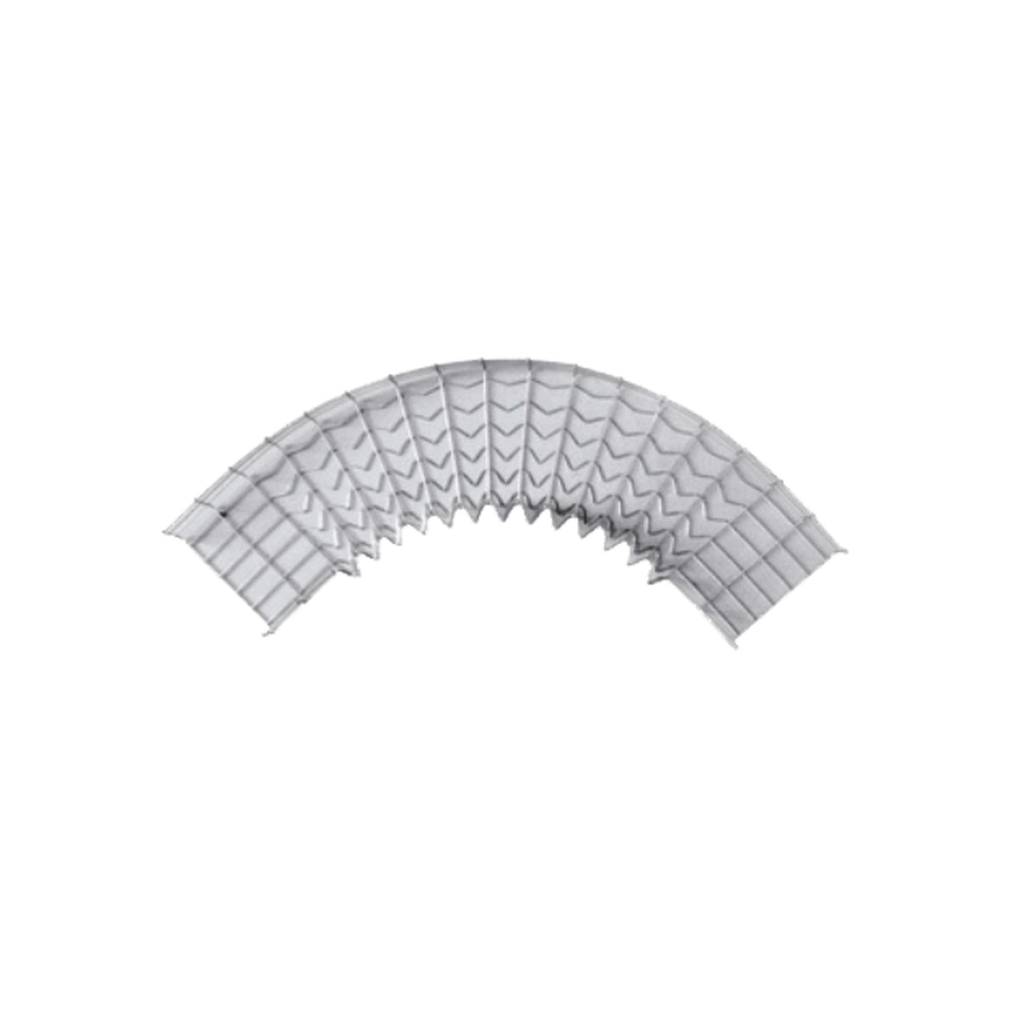 Curva pre-fabricada de 90 grados 54/300 mm de ancho