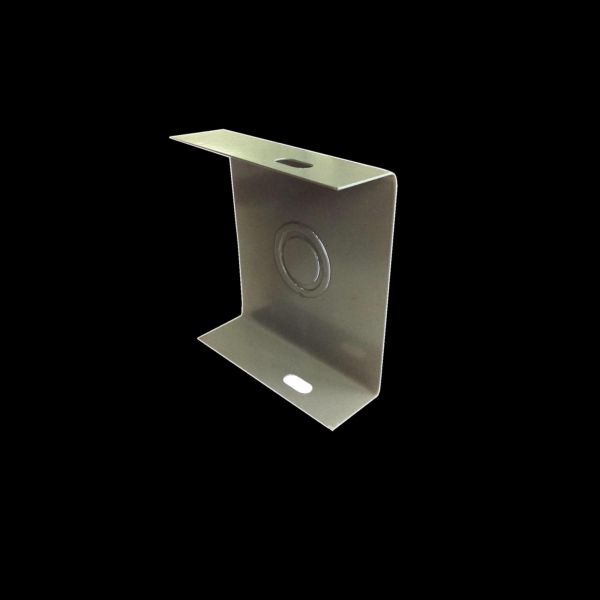 Placa cierre 65 x 65 mm, fabricado en lámina de acero al carbón