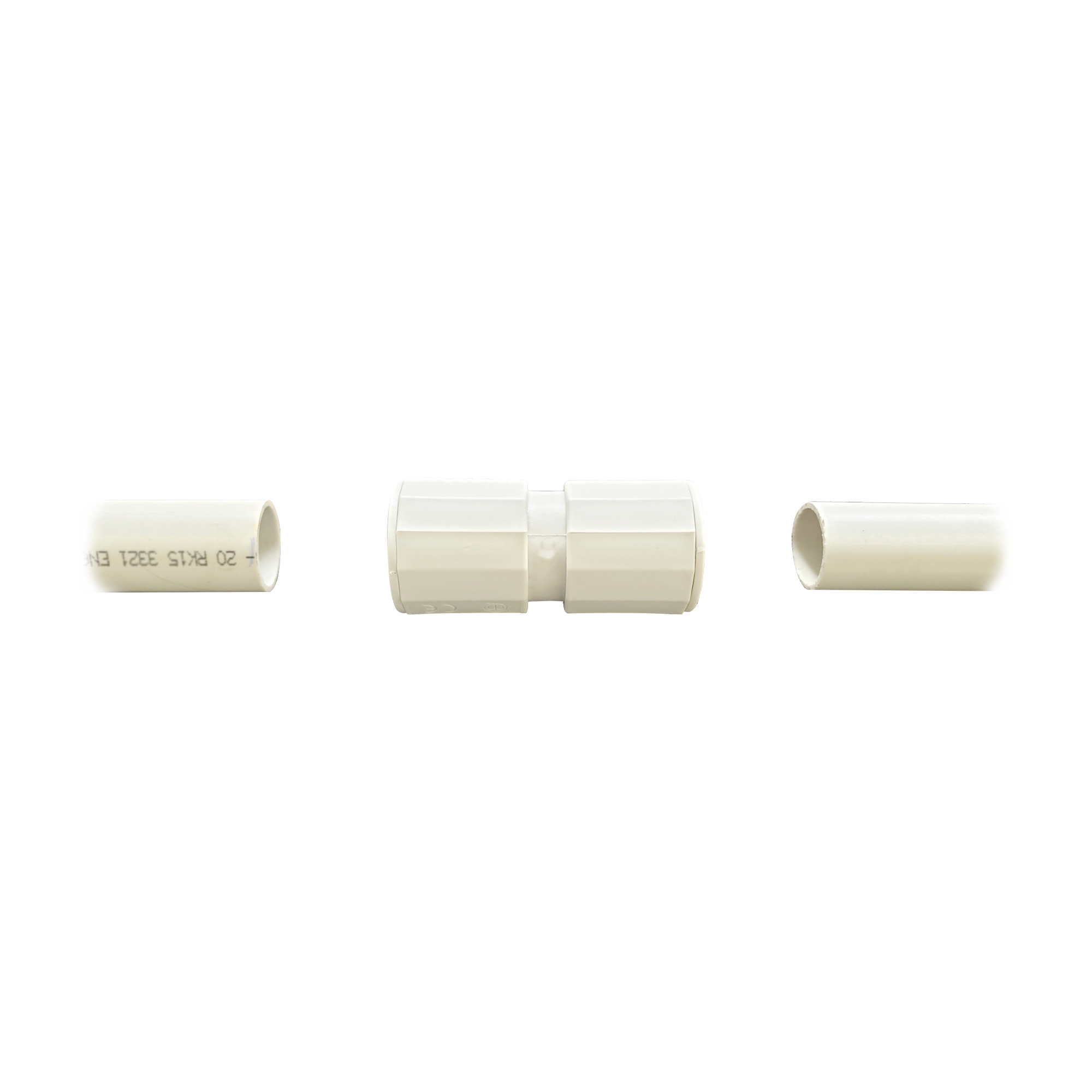 Manguito / Cople Morbidx IP67 libre de halógenos para unir tubería rígida de 25 mm (1) permite una instalación hermética no necesita pegamento
