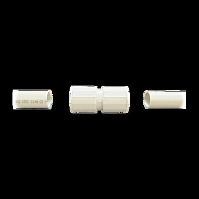 """Manguito / Cople Morbidx IP67 libre de halógenos para unir tubería rígida de 50 mm (2"""") permite una instalación hermética no necesita pegamento"""