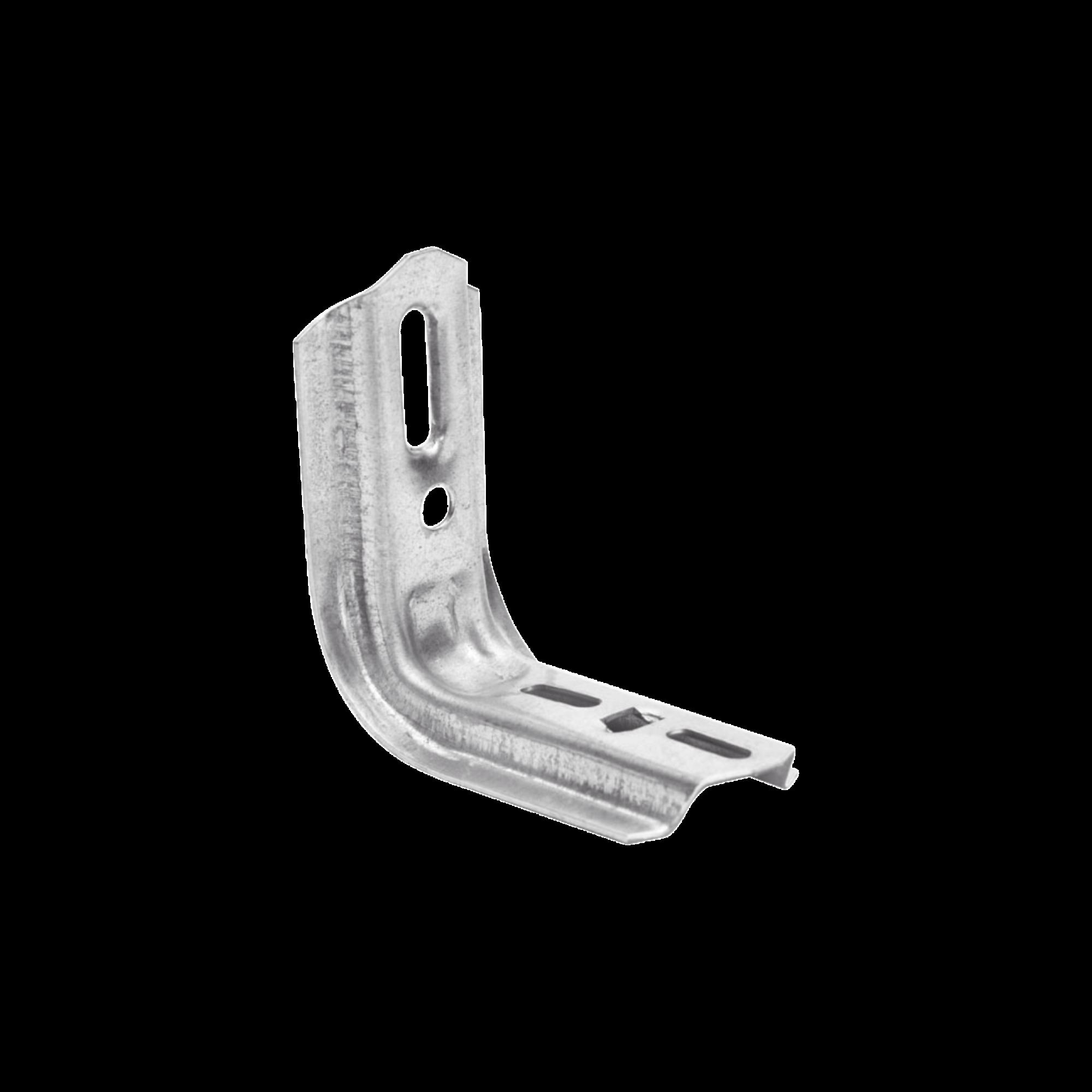Ménsula omega tipo L 110mm inteligente, para montar charola de 50 a 100mm en pared o muro