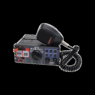 Sirena XCel®, 24 V CC, micrófono con control de luz