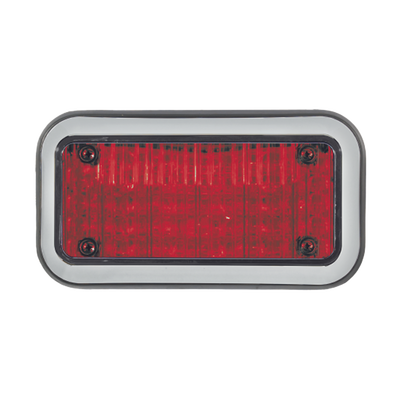 Luz Perimetral 3X7 y LED rojos, con bisel