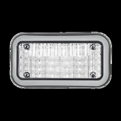 Luz Perimetral 3X7 y LEDs claros, con bisel