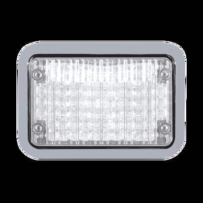 Luz perimetral LED clara 4x6 con bisel