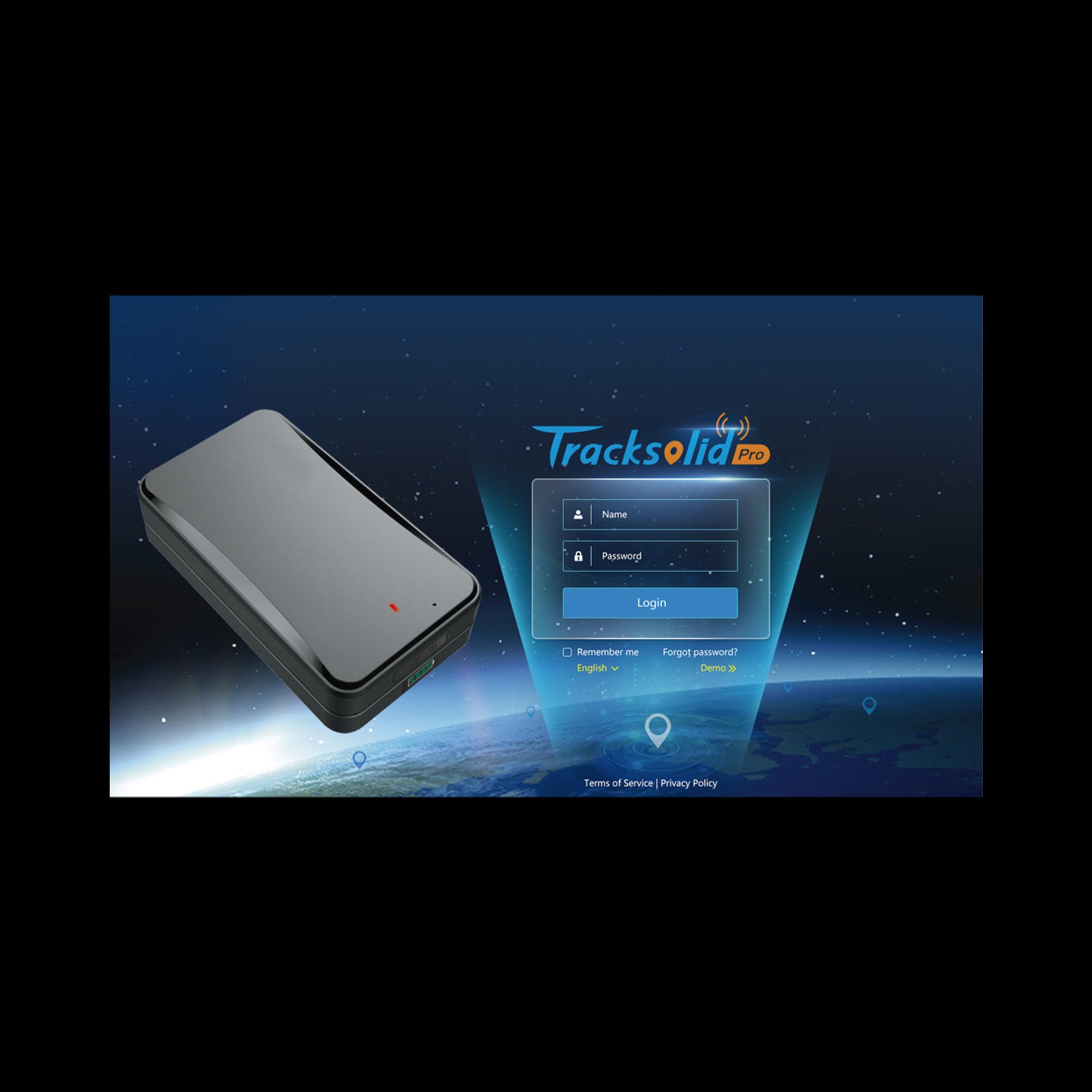Kit de localizador vehicular que incluye un GPS modelo AT6 + primer licencia de plataforma TRACKSOLIDPRO