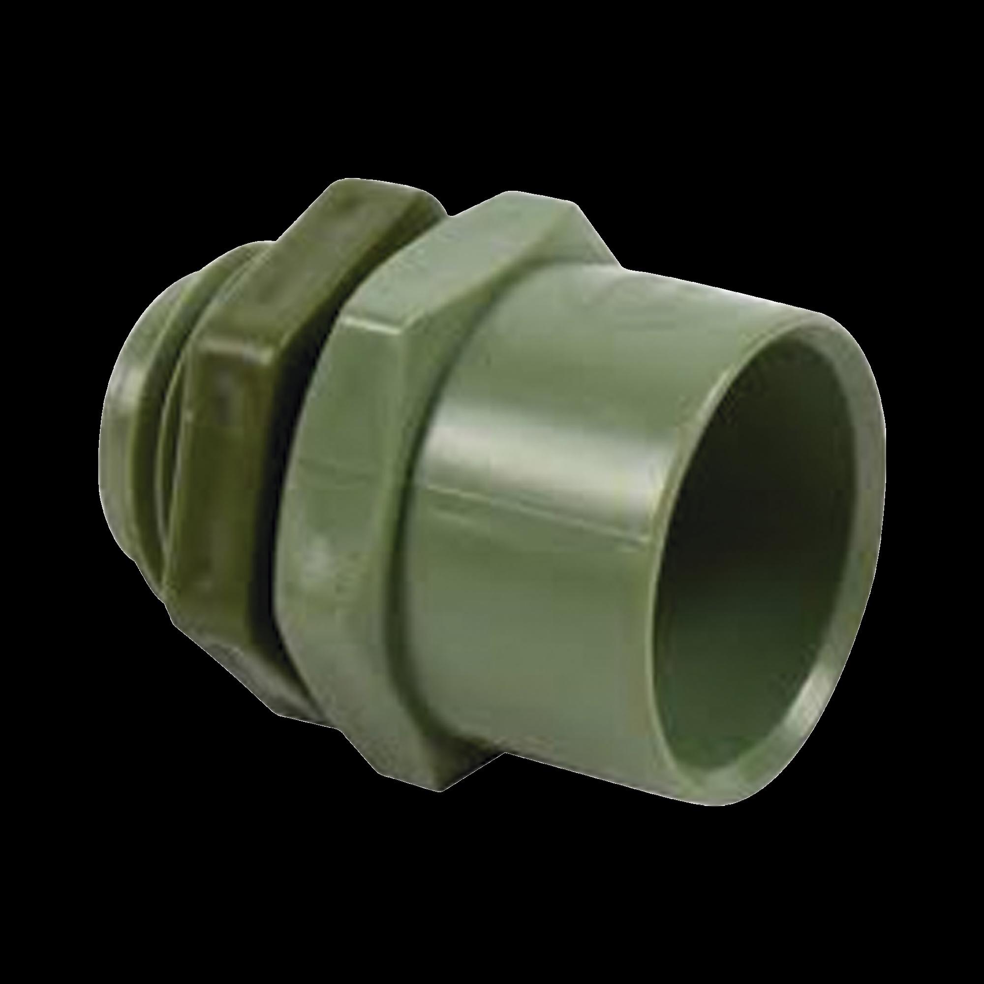 Conector de 2-1/2  para tuberia PVC conduit pesado (60 mm)