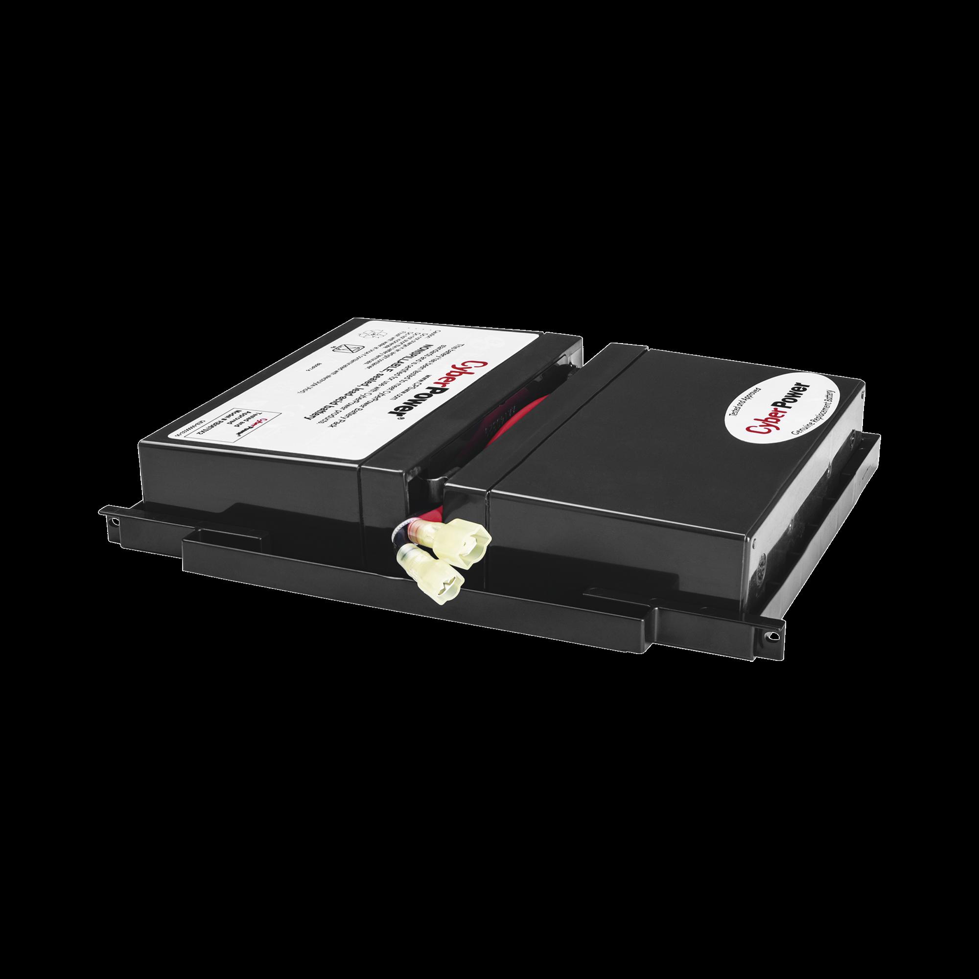 Kit de 2 Baterías Remplazo de  6V/7Ah, Para UPS OR500LCDRM1U