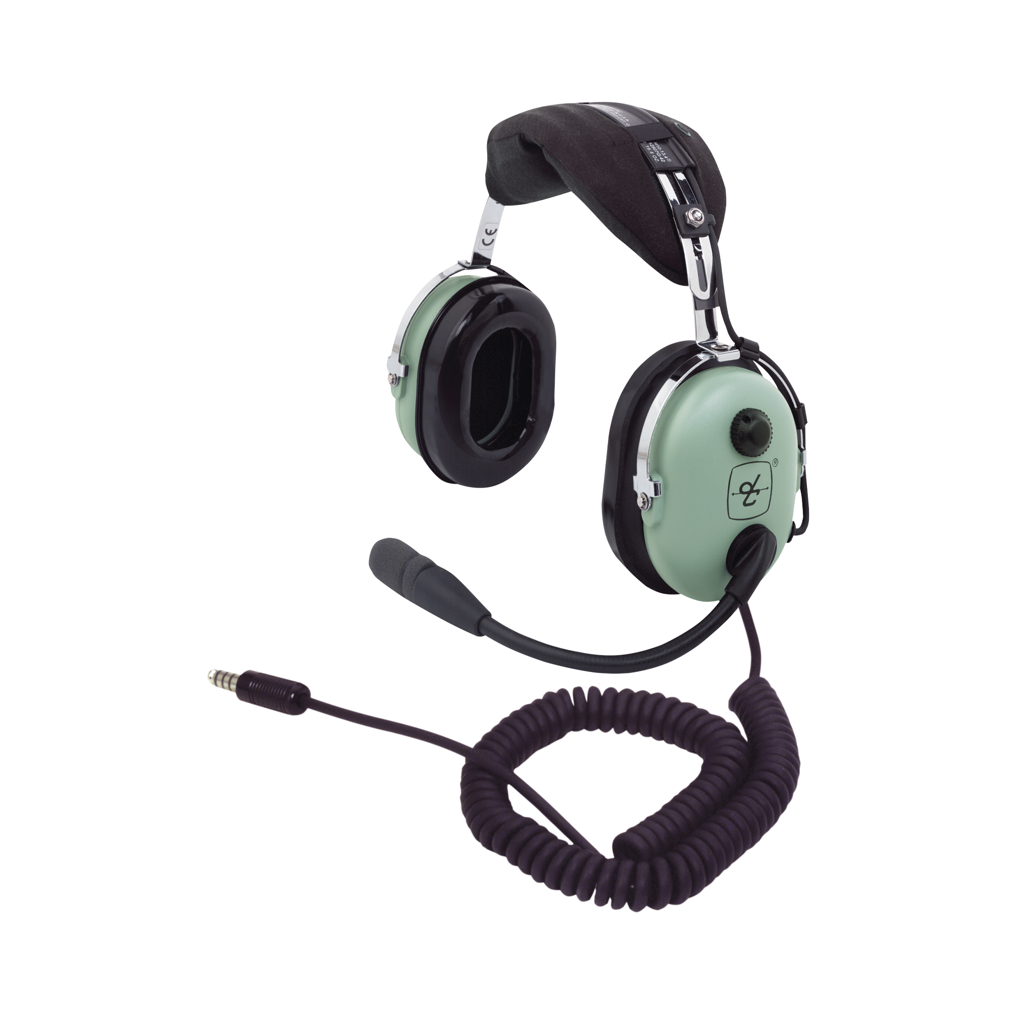 Auriculares con atenuacion de ruido pasivo para radios aéreos en helicopteros