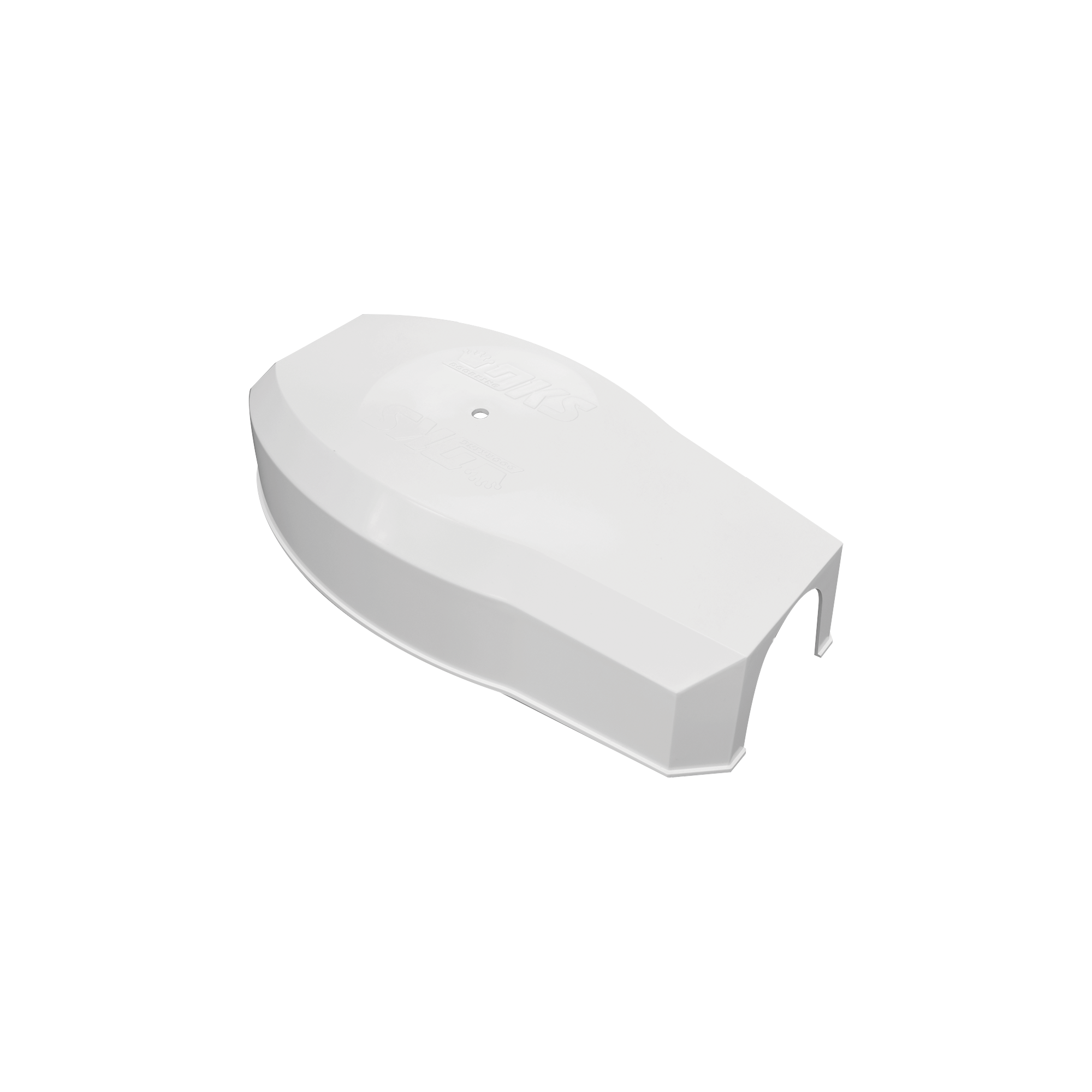 Refacción para 1601/1603 / Tapa plástica para enganche de mástil / Color Blanco