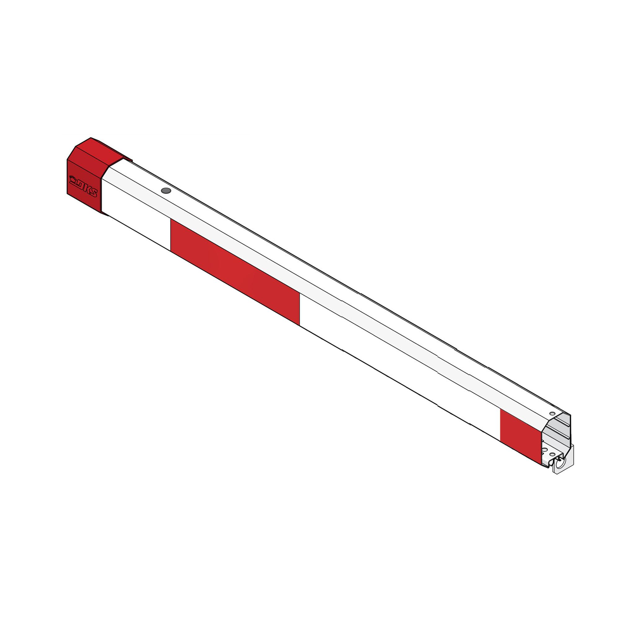 Brazo Octagonal de Aluminio de 4.2 metros / Compatible con Iluminación Rojo-Verde (No incluida)