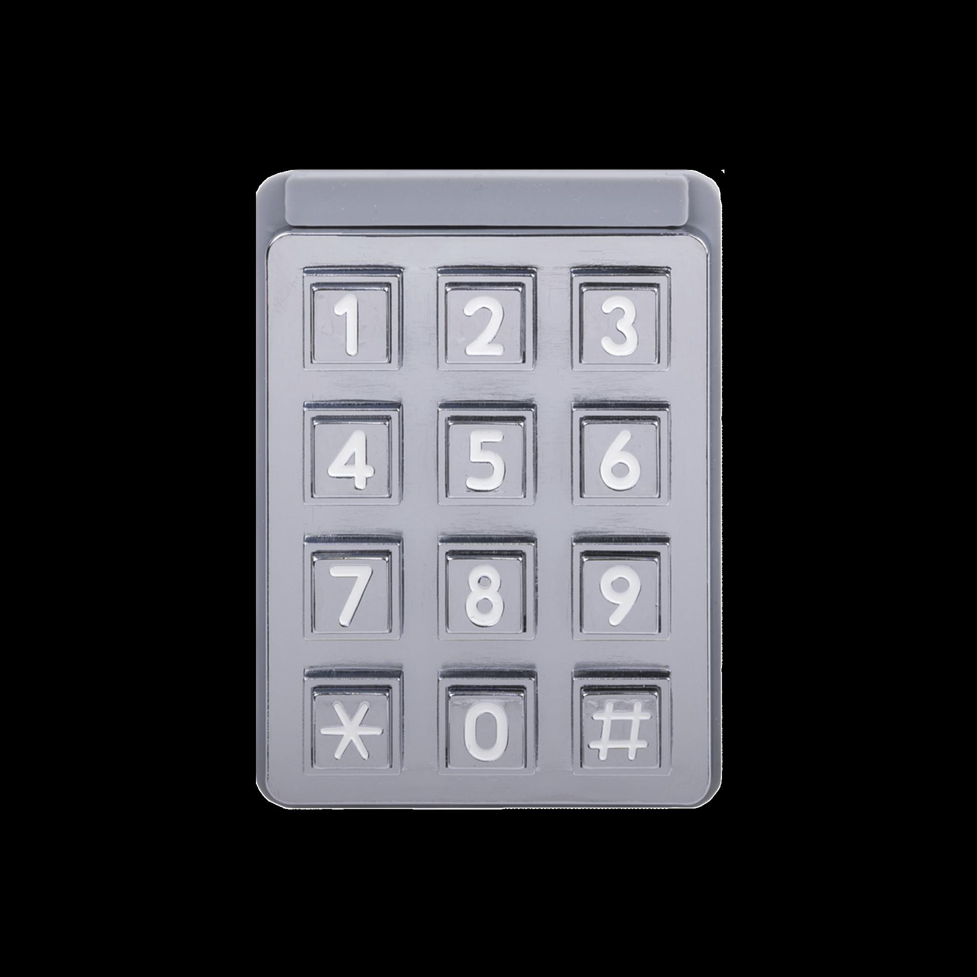 Teclado iluminado para porteros telefónicos DKS / Compatible con porteros 1802-090
